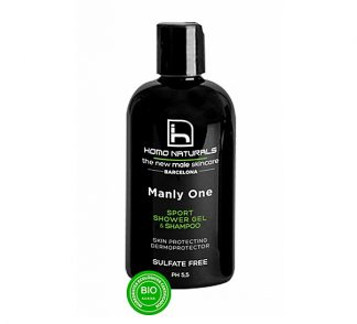 Homo Naturals Manly One Gel de Ducha y Champú