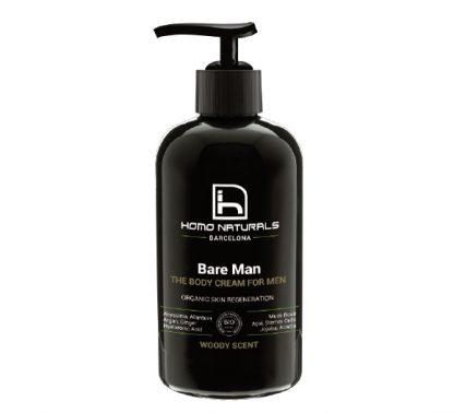 Homo Naturals Bare Man Crema Corporal