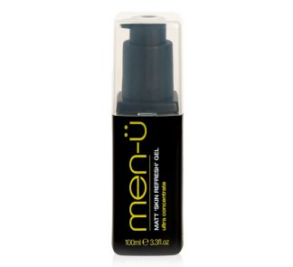men-ü Matt 'Skin Refresh' Gel - Gel tonificante ultraconcentrado