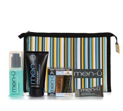 men-ü Travel Kit - Neceser de Viaje con los productos ultra concentrados de men-ü